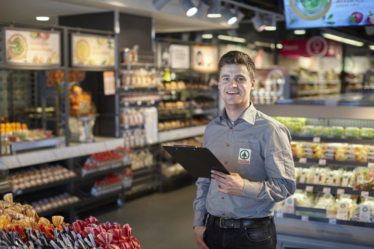 Medewerker Spar Supermarkt